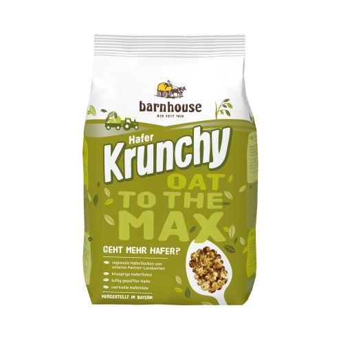 Krunchy OAT to the MAX organic crunchy muesli