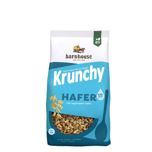 Krunchy PUR rolled oats organic muesli