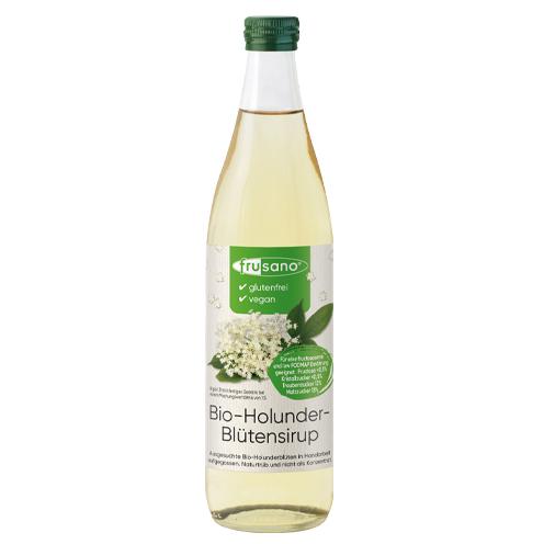 Organic Elderflower Syrup