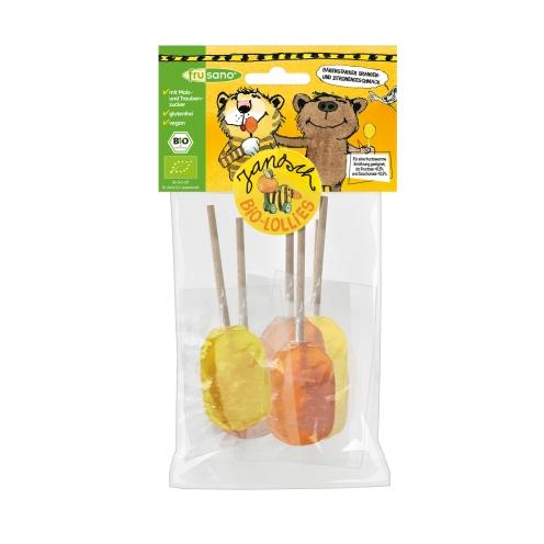 Organic Orange & Lemon Lollipops