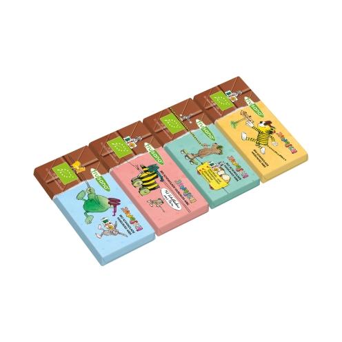 Organic Janosch Chocolate Minis with Nougat