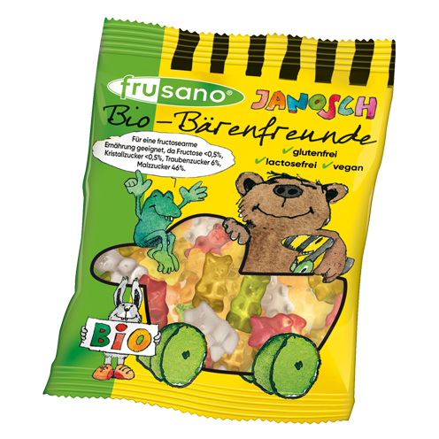 Organic Janosch Bear Friends - without gelatine