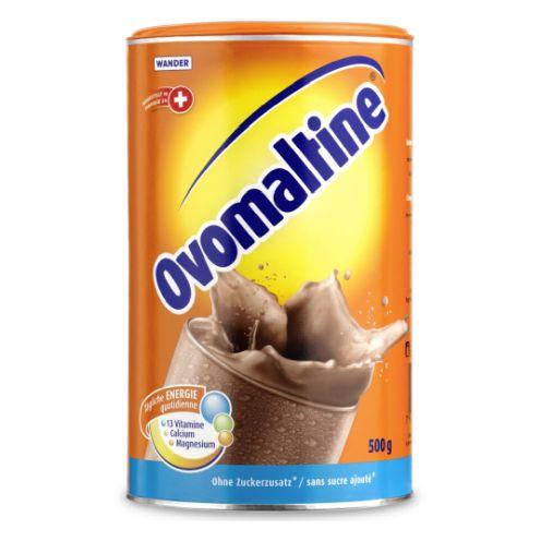 Ovomaltine (500g) - the Swiss original without sugar